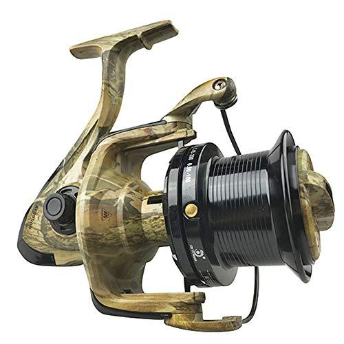 SHZJ Mulinello da Pesca 12 + 1 BB 4.9: 1 Spinning Bilanciere A Bilanciere A Scomparsa con Piombino Intercambiabile, Acqua Dolce Salata.Modello AFS5000-10000, AFS7000