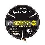 Continental ContiTech Premium 5/8 in. Dia x 50 ft. Commercial Grade Rubber Black Water Hose