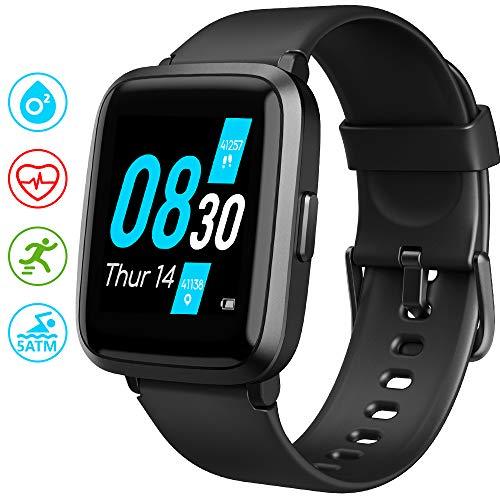 UMIDIGI UFit Smartwatch, Smart Watch Orologio Fitness Uomo Donna per Il Monitoraggio Della Salute e...