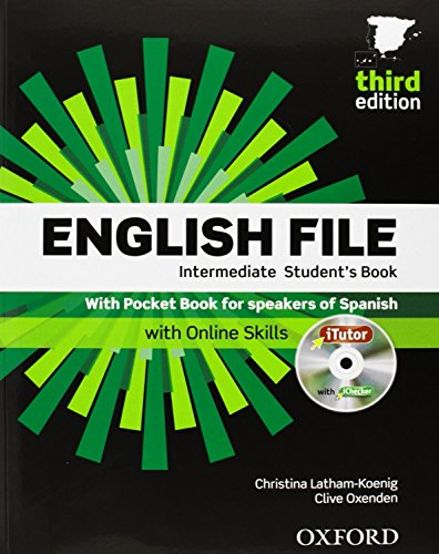 English File 3rd Edition Intermediate. Student's Book, iTutor and Pocket Book Pack (English File Thi