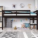 Dorel Living Milton Loft Bed, Twin, Espresso