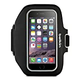 Belkin Sport-Fit Plus Armband for iPhone 6 / 6S, Fitbit Alta, Fitbit Blaze and Fitbit Charge HR (Black/Overcast)