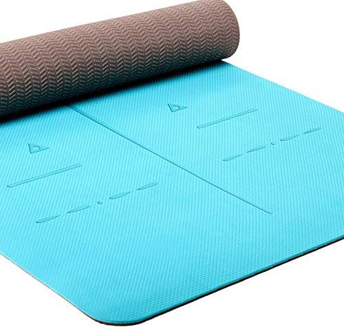 Heathyoga Eco Friendly Non Slip Yoga Mat, Body Alignment...