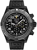 Breitling Avenger Hurricane Men's Watch Self Winding Automatic Movement Brushed Black Polymer Case w/ Black Rubber Strap Case Diameter: 50 mm Date Feature, Chronograph Feature, 70 Hour Power Reserve, Screw Down Crown, Luminescent Hands & Hour Markers