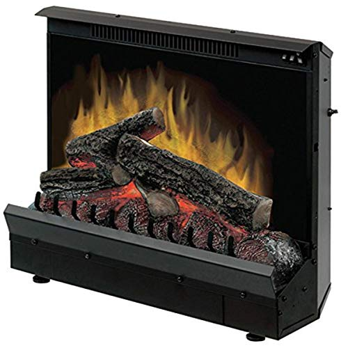 Dimplex U.S DFI2309 Standard 23' Log Set Electric Fireplace Insert, 120V, 1375W, 11.5 Amps, Black