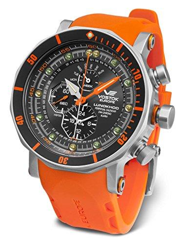 Vostok Europe Herrenuhr Chronograph Lunokhod 2 YM86-620A506