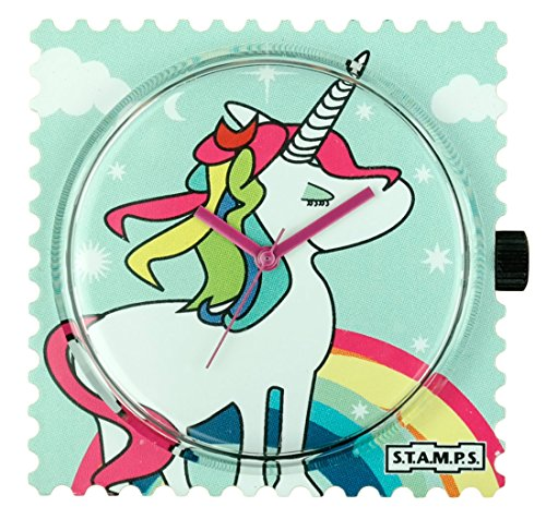S.T.A.M.P.S. Stamps Uhr - Zifferblatt Rainbow Unicorn 103758