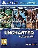 Jeu d'action/aventure sur PS4. Uncharted : The Nathan Drake Collection. Découvrez les aventures emblématiques de Nathan Drake dans les 3 épisodes d'Uncharted. Profitez d'un acces exclusif a la Beta multijoueurs d'Uncharted 4: A Thief's End. filtre Ve...