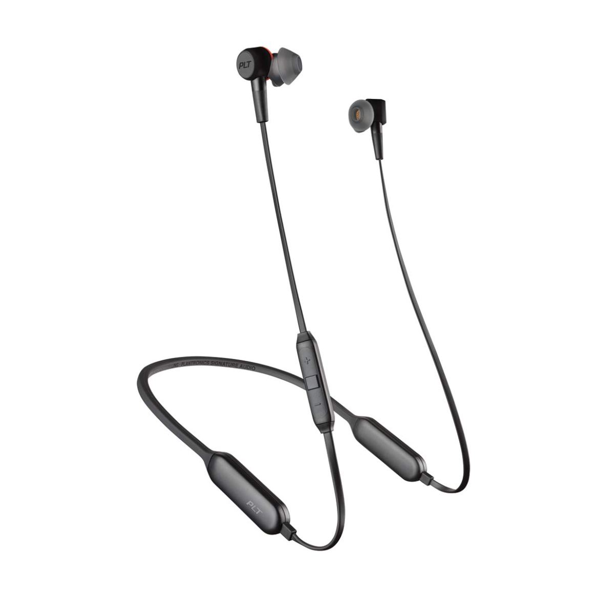 Plantronics BackBeat 410 212078-99 Headphones with Mic (Graphite)