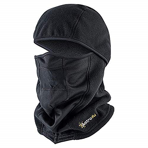 AstroAI Balaclava Ski Mask Windproof Breathable Cold Protection Warm Winter Full Face Cover Extra Soft Mask for Skiing, Snowboarding, Motorcycling, Running, Cycling for Men Women