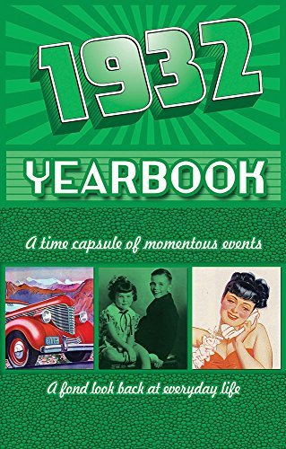 1932 Yearbook Celebration KardLet Birthdays, Anniversaries, Reunions, Homecomings, Client & Corporate Gifts (YB1932)