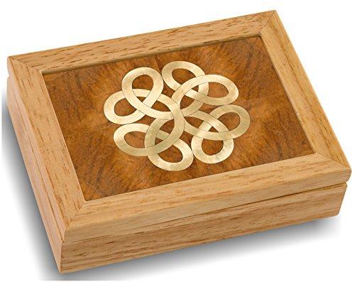 MarqART Wood Art Celtic Box - Handmade USA - Unmatched...