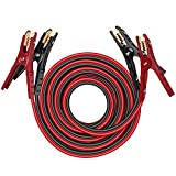 THIKPO G420 Jumper Cables, 4Gauge x 20Ft Battery Cables with UL-Listed Clamps, 600A Peak Jumper Cables Kit for Car, SUV and Trucks with up to 6-Liter Gasoline and 4-Liter Diesel Engines