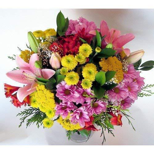 REGALAUNAFLOR-Ramo de flores variadas-FLORES NATURALES-ENTREGA EN 24 HORAS DE MARTES A SABADO