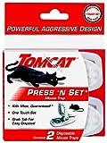 Tomcat Press 'N Set Mouse Trap, 2-Pack