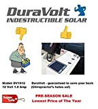 Now 20 Watt 1.0 Amp - Solar Battery Charger - Boat, RV, Marine & Trolling Motor Solar Panel - 12 Volt - No Experience Plug & Play Design. Dimensions 14.1' L x 15.7' W x 1/4' Thick. 10' Cable.
