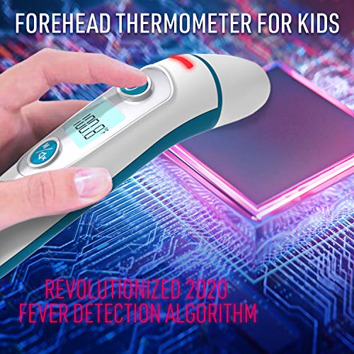 iProven-Forehead-Thermometer-for-Kids-Revolutionized-2020-Infrared-Technology-Clinical-Accuracy-Instant-Read-Thermometer-for-Kids-with-Ear-Mode-DMT-511