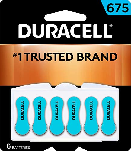 Duracell – Hearing aid Batteries Size 675 (BLUE) – 6 Count