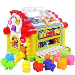 Attractive funny cottage educational toy for kid age 1+