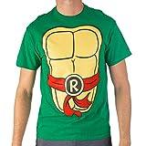 Teenage Mutant Ninja Turtles TMNT Mens Costume T-Shirt (Red, X-Large)