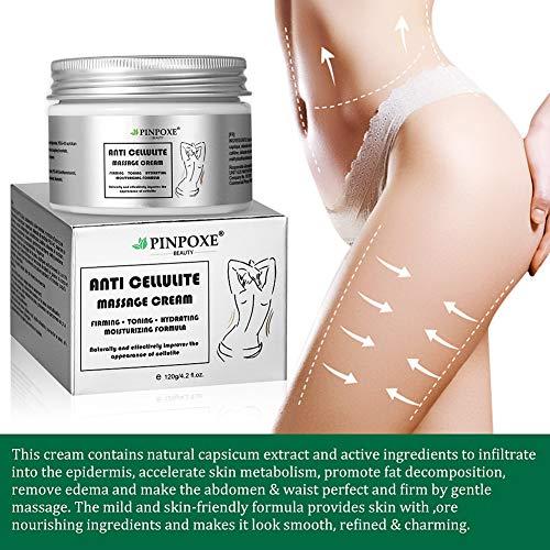 Anti Cellulite Cream, Cellulite Remover, Hot Cream, Anti Cellulite Treatment, Body Firming and Tightening Cream, Belly Fat Burner for Women and Men 4