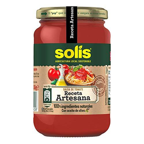 SOLIS Salsa de tomate Receta Artesana Frasco Cristal - 350g