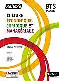 Culture Économique, Juridique et Managériale - 2e année BTS GPME, SAM, NDRC, MCO et CG