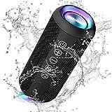 Ortizan Portable Bluetooth Speaker, IPX7 Waterproof Wireless Speaker with 24W Loud Stereo Sound,...