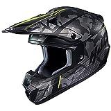 HJC(エイチジェイシー)バイクヘルメット オフロード ブラック/イエロー (サイズ:L) CS-MXII SAPIR(サピア) HJH201