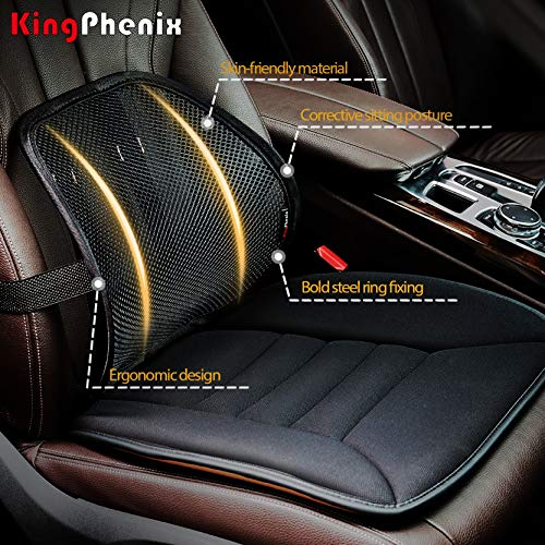 Product Image 2: Lumbar Support (2 Pack) with Breathable Mesh, Suit for Car, Office Chiar