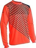 Vizari Arroyo Goalkeeper Jersey | Goalie Jersey | Soccer Clothes | Soccer Shirts | Jersey Soccer | Neon Orange/Navy Youth L