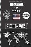 Carnet de Voyage - États-Unis: Mon petit Journal de Bord - À remplir & à...