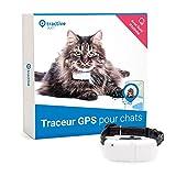 Tractive collier GPS pour chat, Traceur chat avec portée...