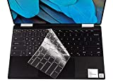 Ultra Thin Keyboard Cover for New 2019 Dell XPS 13 7390 2-in-1 13.3' Laptop Keyboard Cover Protective Skin (for 2-in-1 Version Only), US Layout