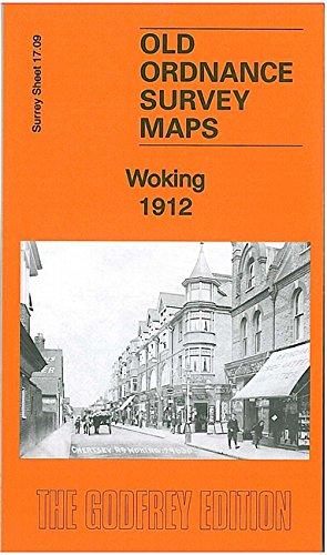Woking 1912: Surrey Sheet 17.09 (Old Ordnance Survey Maps of Surrey)