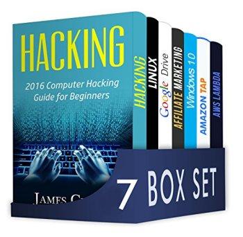 Computer Hacking 6 in 1 Box Set : Beginner's Crash Course To Computer Hacking, LINUX, Google Drive, Affiliate Marketing, Windows 10, Amazon Tap, AWS Lambda