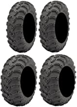 Full set of ITP Mud Lite (6ply) 25×8-12 and 25×10-12 ATV Tires (4)