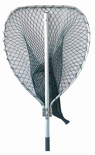 art pesca GUADINO Big Game in Alluminio ANODIZZATO Big Tuna Testa da 80X60 PROFONDITA' Rete 80 CM. da 20mm. da 1,8 mt. Robusta RICHIUDIBILE SALVASPAZIO