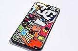 ボム ステッカー ロゴ大 iPhoneケース ハードケース ホットウィール DC ロックスター アベンジ……