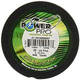 PowerPro Power Pro 21100150500Y Braided Spectra Fiber Fishing Line, 15 Lb/500 yd, Hi-VIS Yellow