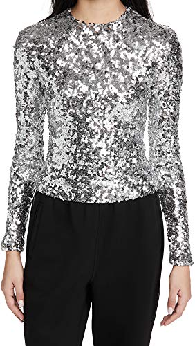 51sq3H8y2OL. SL500 Shell: 100% polyester Fabric: Mid-weight, non-stretch sequin weave Dry clean