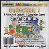 Collection 7 (6) Animated Lessons & Computer Games Social Studies (ages 4-12)