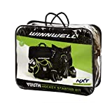 Winnwell Youth Cleansport NXT 6 Piece Hockey Protective Equipment & Bag Starter Kit for Youth Players Looking to Start Playing Hockey