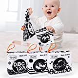 TUMAMA Baby Toys 0 3 6 to 12 Months,Soft Cloth Books for Babies, My First Soft Books Early Education...
