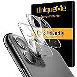 [2 Pack] UniqueMe Protector de lente de cámara Compatible con iPhone 11 Pro/iPhone 11 Pro Max...