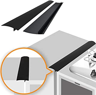 Linda's Silicone Stove Gap Covers (2 Pack), Heat Resistant Oven Gap Filler Seals..
