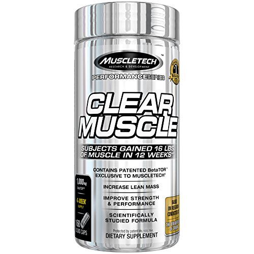 MuscleTech Clear Muscle Post Workout Recovery and Strength Builder, Amino Acid & Muscle Recovery Supplement, 168 Count 1