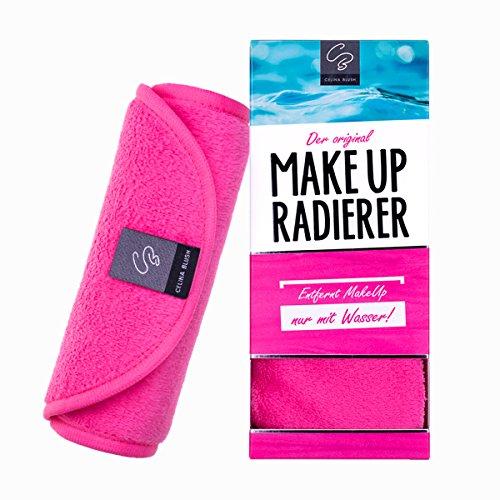 Der original MakeUp Radierer Microfaser Abschminktuch (Tuch   1 Stück, Pink)