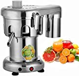 OrangeA 370W Commercial Juice Extractor Heavy Duty Commercial Juicer Aluminum Casting and Stainless Steel Constructed Centrifugal Juice Extractor Juicing both Fruit and Vegetable (WF-A3000)