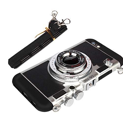 iphone11ケース, iphone11pro ケース, エミリー、パリへ3D電話ケースiPhone用ヴィンテージカメラMax Awsaccy iphone11pro black